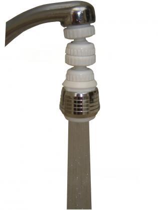 Aérateur douchette de robinet, Orientable 360° - Réduction consommation de 30 à 70%