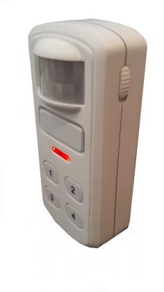 Alarme secureasy, Alarme 120 décibels ou mode carillon
