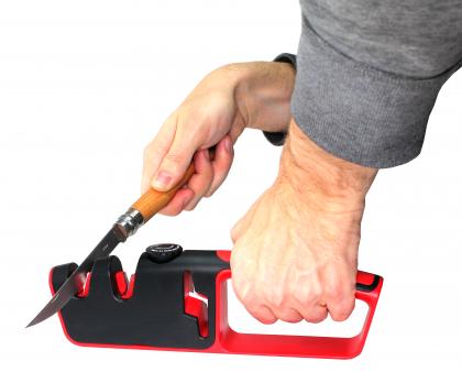 Aiguiseur angle ajustable, Angle de 14° à 24° par côté - Couteaux et ciseaux