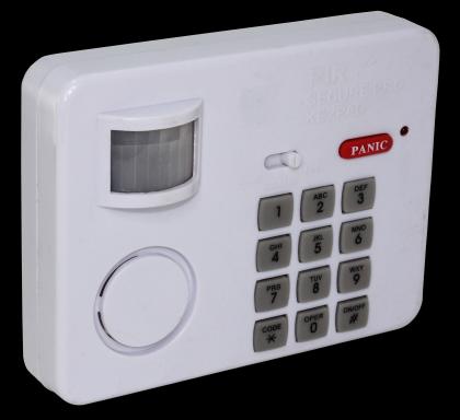 Alarme clavier NO PANIC !, 90 dB - Détection à 5m - Code jusqu'à 12 chiffres