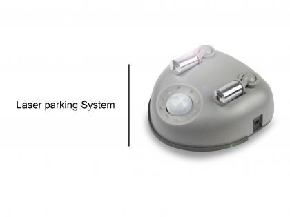 Aide au stationnement Double, Guidage laser de précision