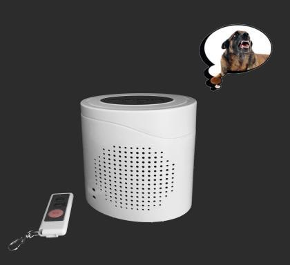 Alarme chien de garde 360°, 120 Db - Fonctions carillon et sirène - Télécommande