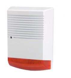 Alarme factice, LED flashante 24h/24h - Simulation parfaite - IP44