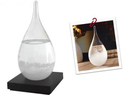 Baromètre Storm Glass, Prévision météo - Décoratif & élégant
