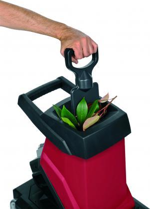 Broyeur de végétaux avec bac, Coupe fine - Gain de place - 2500W