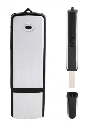 Clé USB microphone, Microphone - Stockage de données - 4 Go