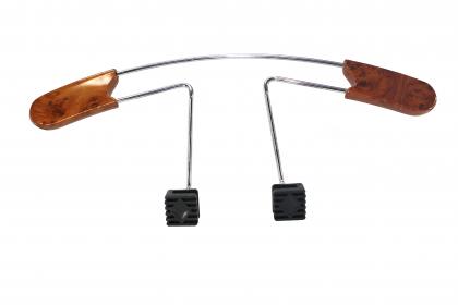 Cintre loupe d'orme de voiture, Extensible 48 à 58 cm - Fixation facile tous types de sièges