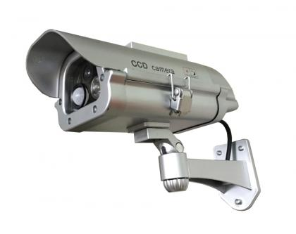 Caméra Flash Solaire, Détecte et flashe jour et nuit - Zéro maintenance