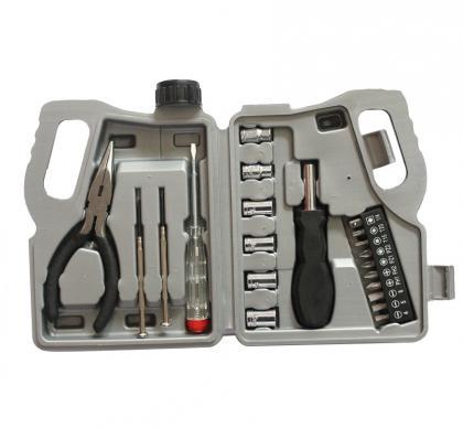 """Coffret """"bidon d'huile moteur"""", 21 outils - Rangement pratique"""