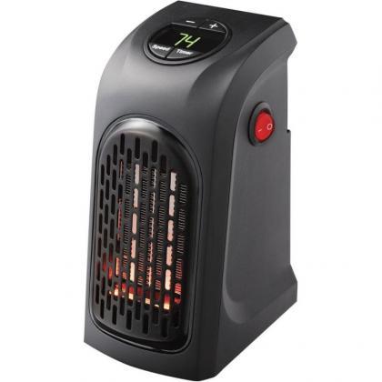Chauffage Céramique Plug'heat, Ecran digital - Thermostat - 400W - Timer