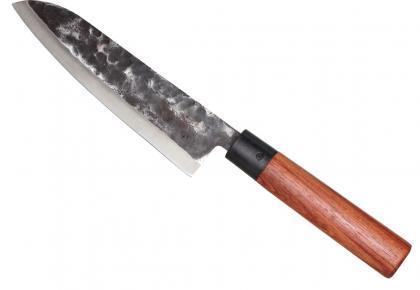 Couteau Chef Japonais, Lame en acier 2.5 mm - Manche en palissandre
