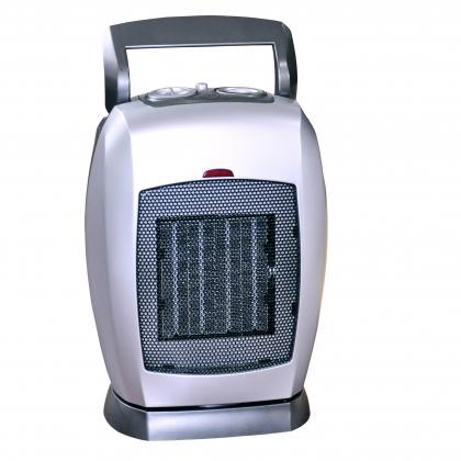 Chauffage céramique pivotant, 900 / 1800 W - Thermostat