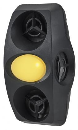 Chasse nuisibles 270°, Usage intérieur- Ultrasonique - Electromagnétique