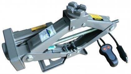 Cric électrique 12 V, Acier - jusqu'à 1 500 kg