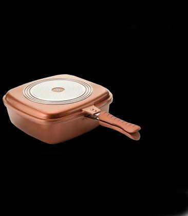 Poêle CeramiChef, Tous feux - Multicuisson & Multifonction - Set de 3 éléments