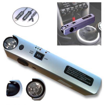 Chargeur batterie voiture, Lampe - Adaptateurs inclus