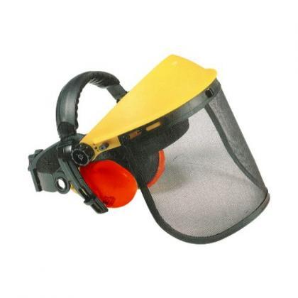 Visière de protection bricolage, protection du visage + anti bruit