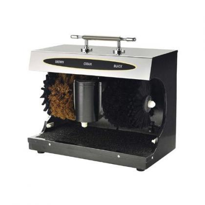 Cireuse à chaussures électrique, Démarrage automatique - 4 brosses - Réservoir
