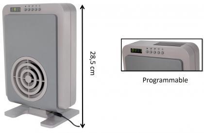 Destructeur d'odeurs, Générateur d'ozone - Silencieux - 0.5 W seulement