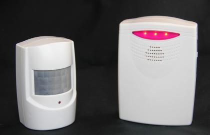 Détecteur de présence, Sans fil - Alarme ou carillon