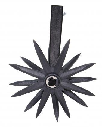 Emietteur rotatif 3 en 1, 3 griffes - 1 griffe amovible - 2 manches