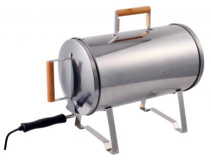 Fumoir électrique Chef 4*, 1100 Watts - Chauffe à  230°C - Grande taille