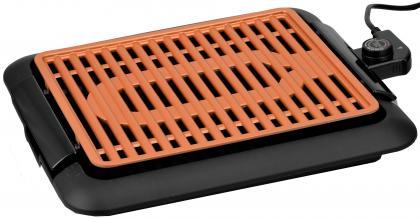 Grill sans fumée, Revêtement céramique  - Thermostat - Jusque 250°
