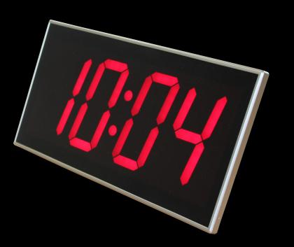 Maxi horloge, Maxi chiffres  - 4 fonctions - Télécommande