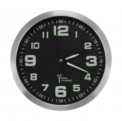 Horloge Glow in the Dark, Radiopilotée - Phosphorescente