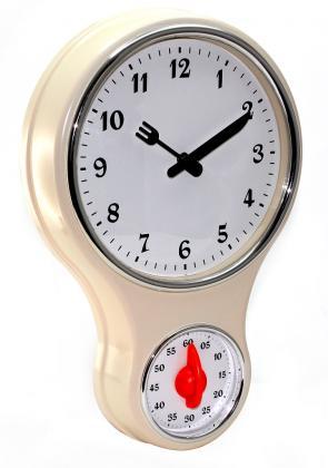 Horloge minuteur Rétro, Grande lisibilité - Simple d'utilisation - Minuteur mécanique