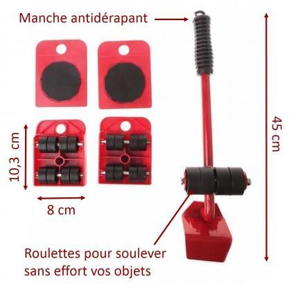 Kit déplacement EasyMeubles, Charge maximale 150 kg - Sécurité