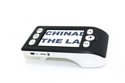 Loupe numérique Easy Reading, Compacte - Zoom x 10 - Ecran LCD - Sans fil