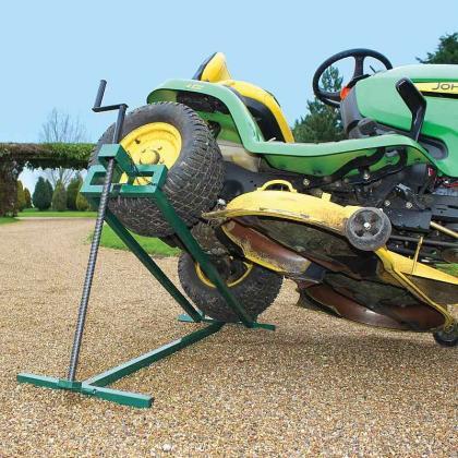 Lève tondeuse autoportée, Supporte jusqu'à 400 Kg - Sans effort - Encombrement réduit