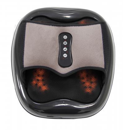 Masseur relax'acupuncteur, Reflexologie plantaire - Compression d'air - Chauffant