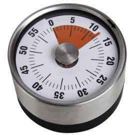 Minuteur magnétique rétro, Acier inoxydable