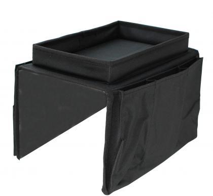 Organiseur de canapé, 5 poches - Plateau intégré - Stable