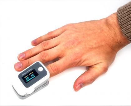 Oxymètre de pouls Couleur, Ecran OLED 2 couleurs - Affichage orientable
