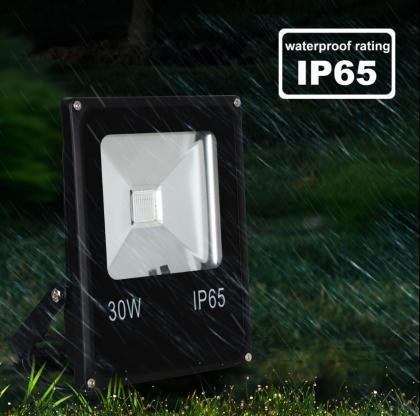 Projecteur orientable 30W, LED COB nouvelle génération - Télécommande - 2000 lumens