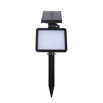 Projecteur solaire mur sol, 48 LED - Hyper puissant : 960 lumens  - IP65