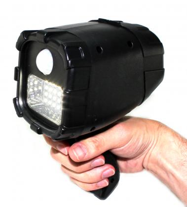 Projecteur solaire 2 en 1, 24 LED - 300 lm - Détection de mouvements - Rechargeable