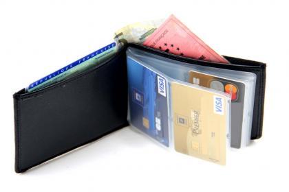 Portefeuille anti-RFID, Cuir véritable - Capacité 24 cartes - Poche à billets
