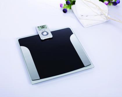 Pèse personne à écran déporté, Ecran LCD - Transmission infrarouge - Poids max : 150 Kg