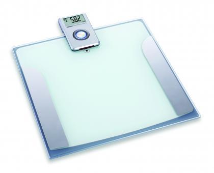 Pèse personne à écran déporté, Ecran LCD - Transmission infrarouge - Impédancemètre
