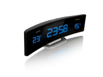 Radio réveil Maxi Curve, Capteur extérieur - Affichage des températures