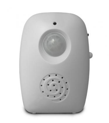 Accueil / Alarme vocale, Avec détecteur de mouvement