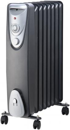Radiateur sans huile, Convecteur - Sur roulettes - 750 / 1 500 W