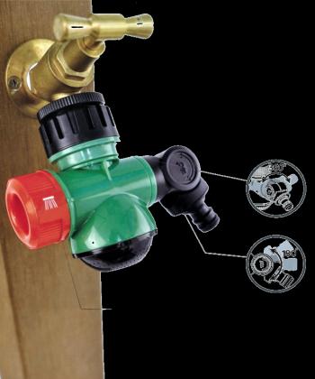 Raccord de robinet 3 en 1, Connecteur tuyau - Jet droit - Jet douche