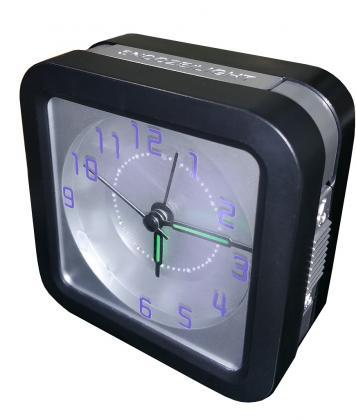 Réveil Digi-light, Eclairage automatique des chiffres à la tombée de la nuit