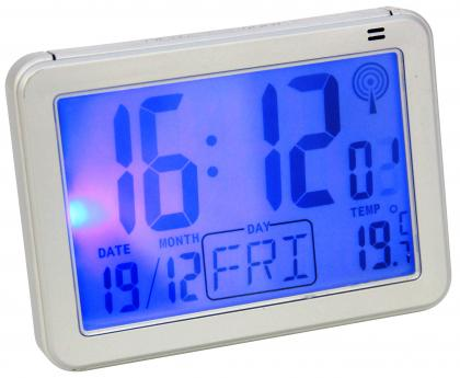 Réveil Smart Light, Radiopiloté - Détecteur d'obscurité - Ecran 2 intensités