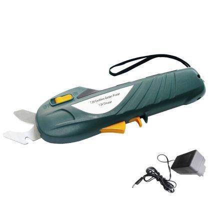 Sécateur électrique sans fil, avec batterie rechargeable 7,2 V lithium